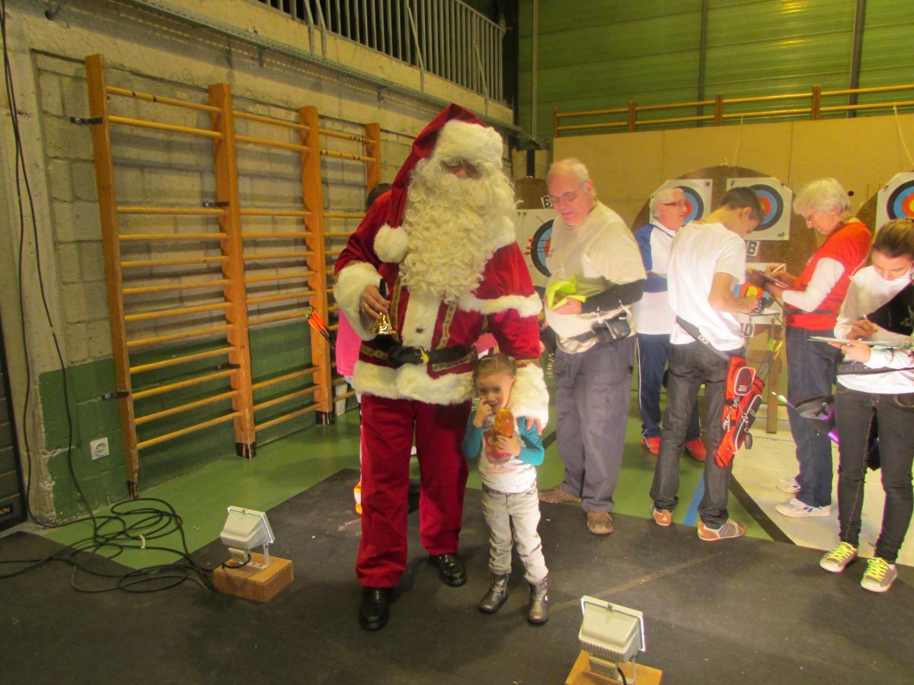 Le Père Noël est de la partie